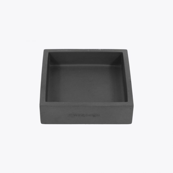Square Concrete Holder by Wit & Delight