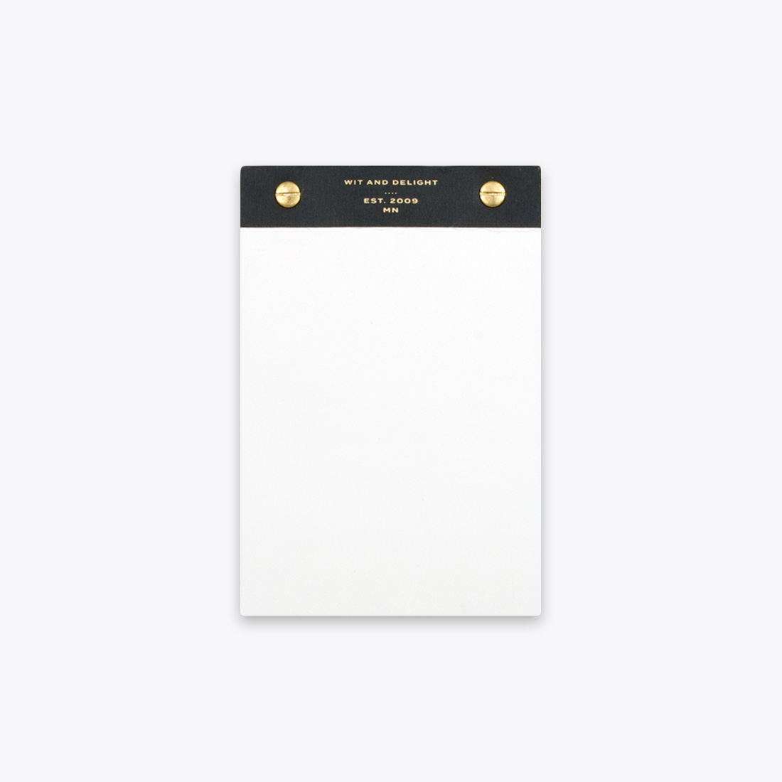 Black Desktop Notepad by Wit & Delight