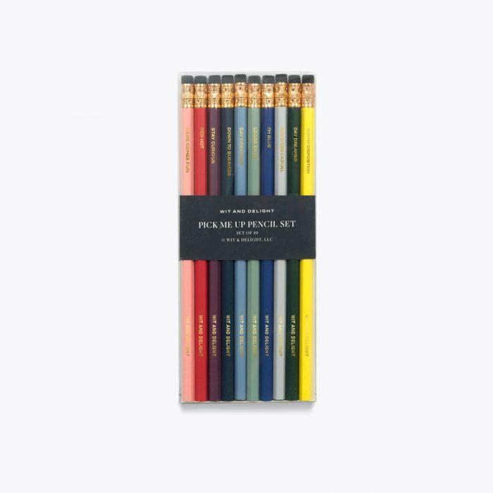 Pick Me Up Pencil Set by Wit & Delight