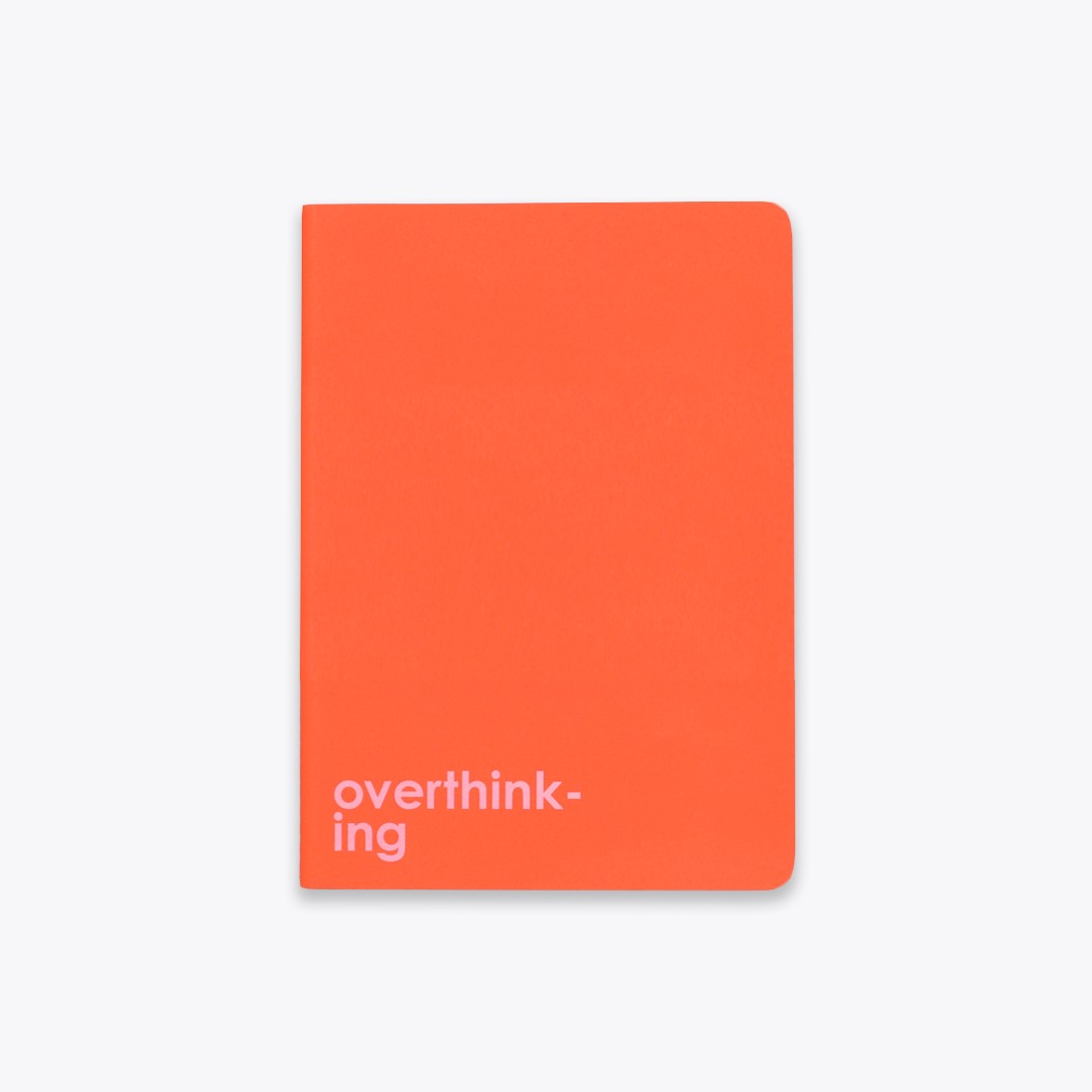 Overthinking Saddle Stitch Notebook by Ashley Mary