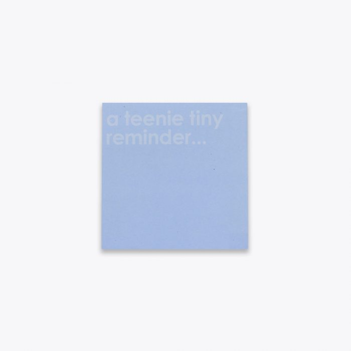 Tiny Reminder Sticky Note Cubet