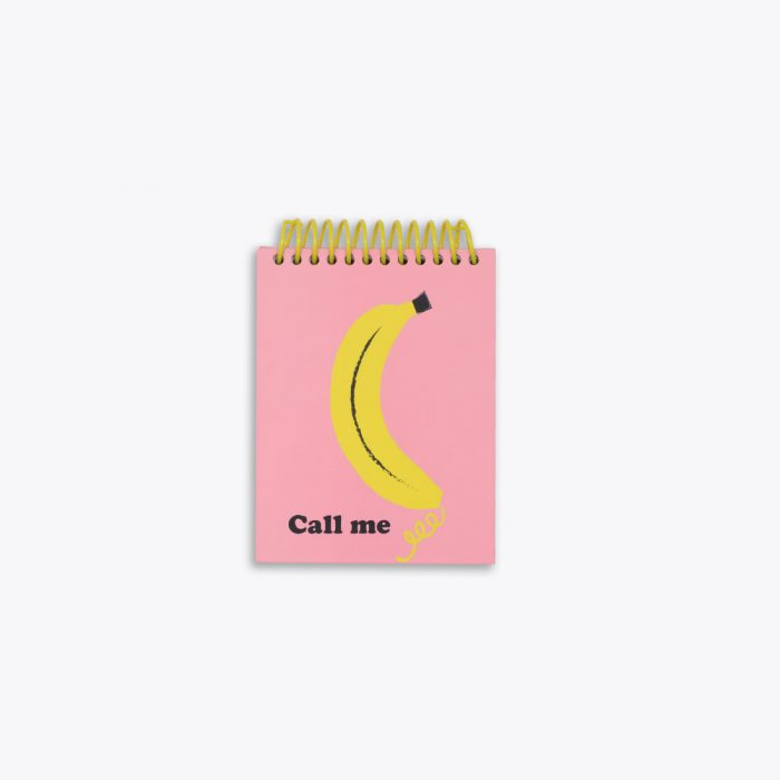 Bananas Notepad by Ashley Mary