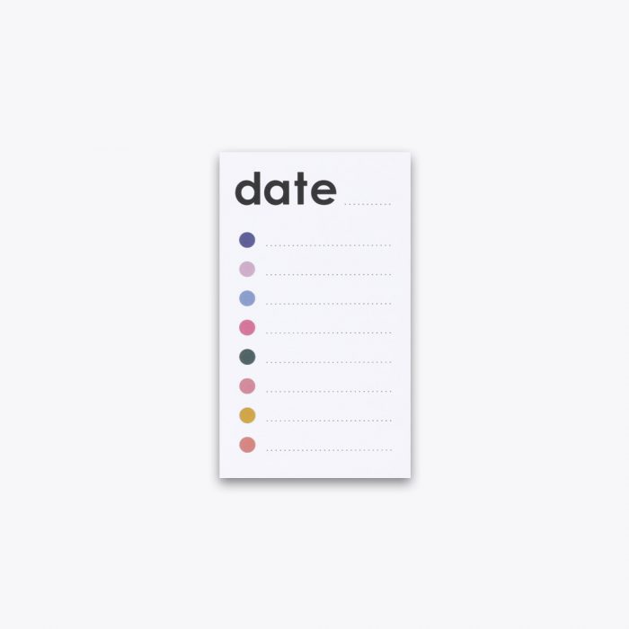 Checklist Notepad by Ashley Mary
