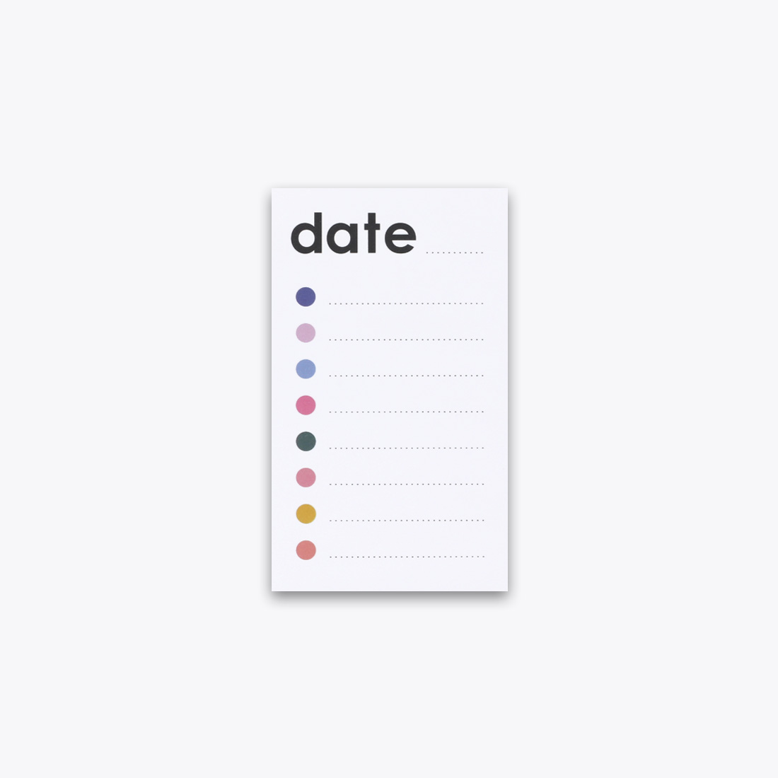 Checklist Notepad by Ashley Mary