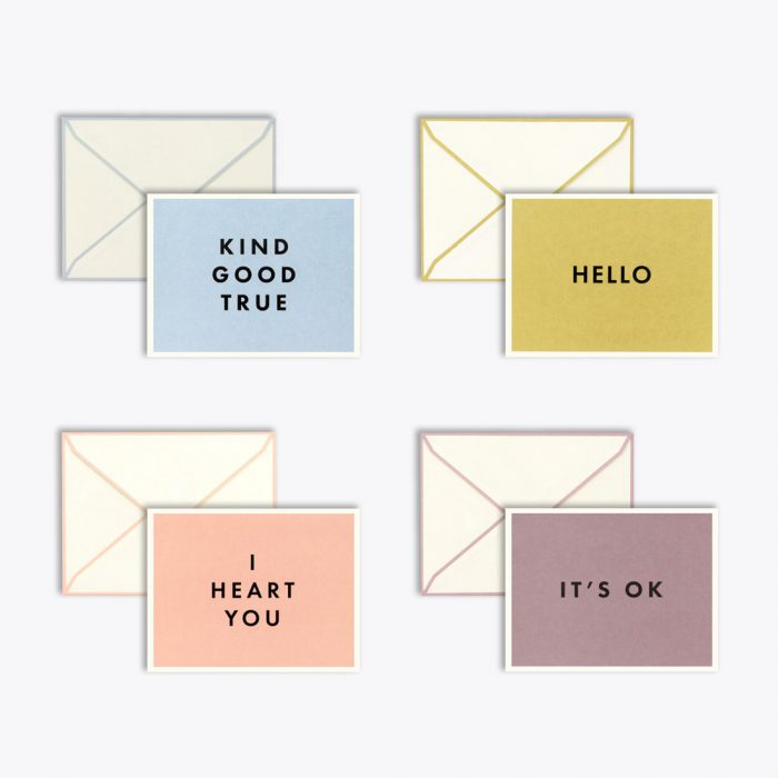 Minimal Just Because Card Set